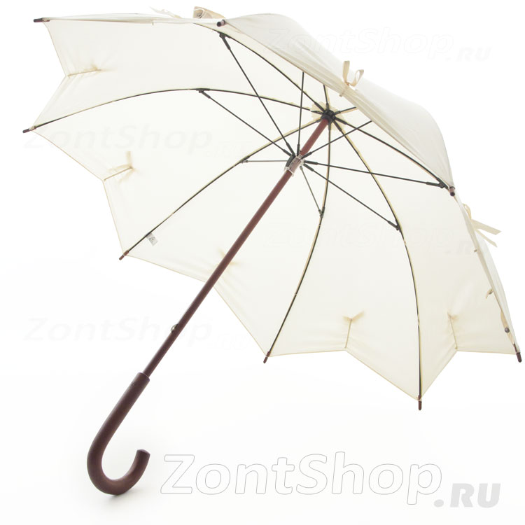 Зонт-трость женский Fulton L776 2769 Звезда (Star) Бант