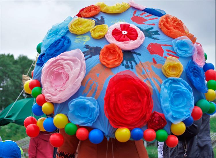 Зонтик на конкурс своими руками 903